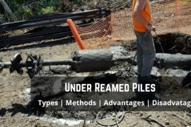 Under Reamed Pile – Construction, Uses, IS Code & Applications